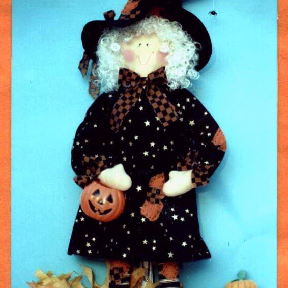 WENDY WITCH Raggedy Witch - -Rag Babies - -21 inch