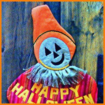 Halloween GOODIES BAG, Transfers, Banner, Wallhanging, Pumpkin Stem sewing pattern Butterick 5877