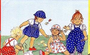 Infant Grils Jumper, Romper, Hat size large extra-large Busybodies Butterick 4584
