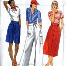 Skirt, Pants, Shorts womens size waist 24 Butterick 5328