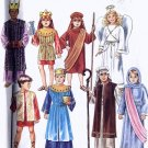 Costumes Joseph Mary Three Kings Two Shepherds Angel boys girls sewing pattern Simplicity 8153