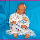 BABY BUNNY Nightgown - 12 13 14 15 16 17 18 inch - doll clothes