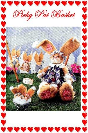 Bunny RABBIT Craft Softie Stuffed Animal McCalls 9210