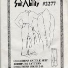 Saddle Suit JODHPURS Pants 2 4 6 8 10 12 14 16 childs
