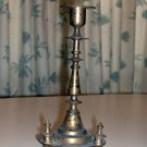 Czarist Era Russian Bronze Onion Dome Sabbath Candlestick