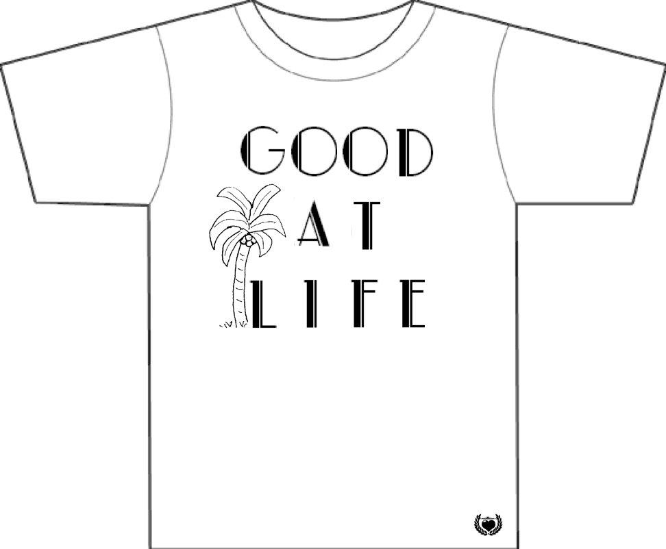 Good at Life - Palm - Men's T-Shirt