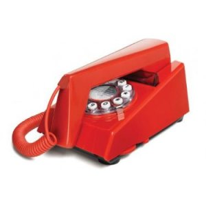 Trim Phone Retro Red