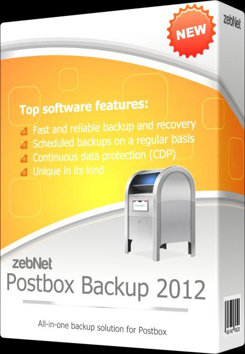 zebNet Postbox Backup 2012