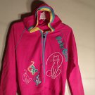 LADIES BABY GIRL JUNIOR SIZE SWEAT TOP SIZE L PINK