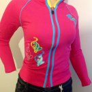 LADIES BABY GIRL JUNIOR SIZE SWEAT TOP SIZE Large PINK