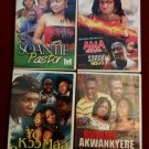 4 SET RITUAL/CHURCH LOVE AND HATE   AFRICAN MOVIE PCK IN THERE DIFF LANGUAGE