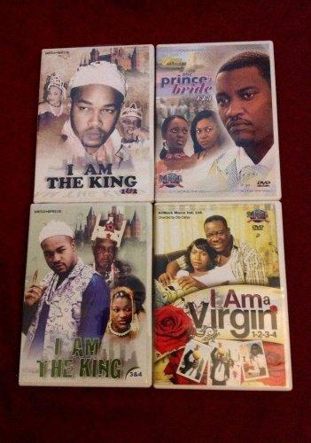 4 GREAT DRAMA  AFRICAN/GHANA MOVIE PCK