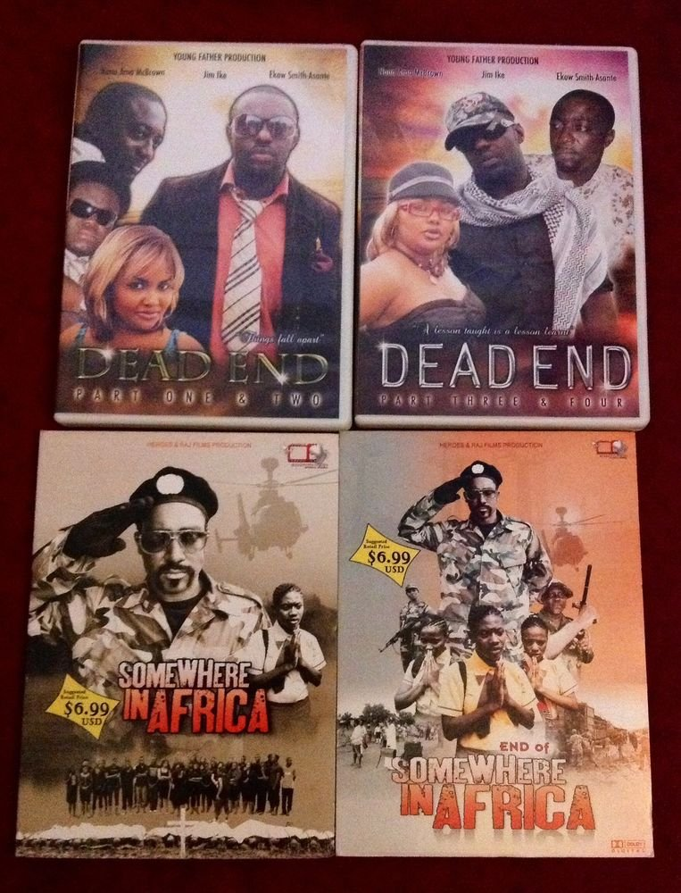 GREAT DRAMA AFRICAN/GHANA MOVIE 4CD