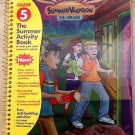 Math/Reading/Science Entering 5th Grade Summer Vacation Workbook Fun Book