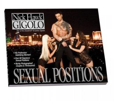 California Exotic Novelties Nick Hawk Gigolo Sexual Positions Book  Multi-Colore