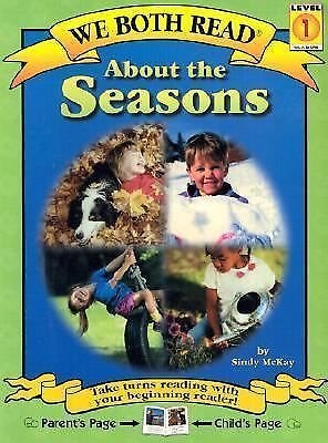 We Both Read-about the Seasons by Sindy McKay (2001, Paperback)