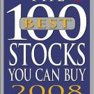 John Slatter - 100 Best Stocks You Can Buy 08 (2007) - Used - Trade Paper (