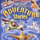 Disney's Five Minute Adventure Stories by Sarah E. Heller (2002, Hardcover)