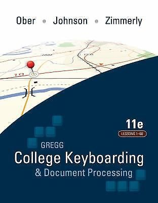 College Keyboarding and Document Processing lesson 1 - 60