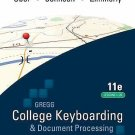 COLLEGE KEYBOARDING & DOCUMENT PROCESSING  Kit 4: Lessons 1-20