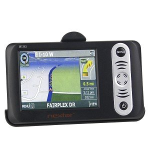 "Nextar W3G 3.5"" Touchscreen Portable GPS Navigation System w/USA & Canada Maps"