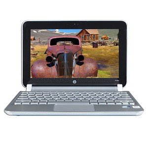 "HP Mini-Notebook 210-2081NR Atom N455 1.66GHz 1GB 250GB 10.1"" LED Netbook Win7 Starter w/Webcam"