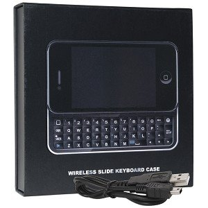 Bluetooth Sliding Keyboard & Hardshell Case