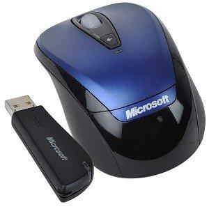 Microsoft 3000 4-Button Wireless Notebook Optical Scroll