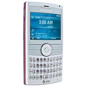"Samsung BlackJack II 2.4"" LCD Unlocked Quad-Band GSM Bluetooth pink"