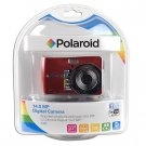 Polaroid i1437 14MP 3x Optical/5x Digital Zoom HD Camera (Red)