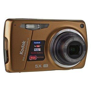 Kodak EasyShare M575 14MP 5x Optical/5x Digital Zoom HD Camera (Brown)