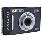 Vivitar ViviCam 5022 5.1MP 4x Digital Zoom HD Camera (Black) - One Touch Sharing!