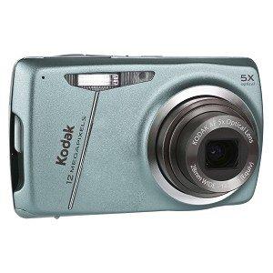 Kodak EasyShare M550 12MP 5x Optical/5x Digital Zoom HD Camera (Blue)
