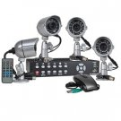 NEW 4-Channel Standalone Network DVR Surveillance Kit