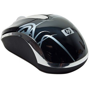 HP GK859AA 3-Button Bluetooth Laser Scroll Mouse w/Tilt Wheel Plus Zoom Technology