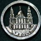 VINTAGE STERLING SILVER ST. PAUL CHURCH LONDON
