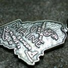 VINTAGE STERLING SILVER MAINE CHARM PENDANT