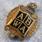 VINTAGE GOLD TONE FRATERNITY  PIN BROOCH  FRAT