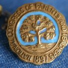 Antique 1897 PIN Congress of Parents and Teachers CA