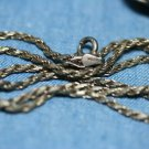 STERLING SILVER LINK CHAIN NECKLACE 16""