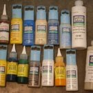 LOT OF 15 GLASS GALLERY PAINTS never used