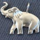 STERLING SILVER ELEPHANT CHARM PENDANT