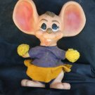 VINTAGE 1970 ROY DES CHEERLEADER MOUSE CHARACTER BANK