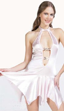 Wholesale Pink Sexy halter skirt only usd 120 1dozen and shipping #ps70918