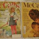 4 Vtg. McCall's Magazines 1960's & 1970