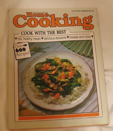 Women's Circle Home Cooking Cook with The Best Cookbook 1990
