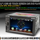 "6.2"" HD 2 Din Car Auto Raido Touchscreen GPS BT PIP 3D Rotating Dual Zone DVB-T-863D"