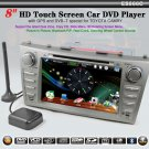 "8"" 2 Din Touch Screen Car DVD Player for TOYOTA CAMRY DVB-T GPS-866C"