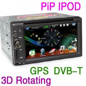 """6.2"""" HD Car Stereo Video GPS Nav DVB-T dvd player-863D"""
