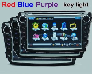 Hyundai Verna Solaris DVD with GPS radio bluetooth TV iPod
